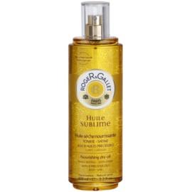 Roger & Gallet Huile Sublime pflegendes Trockenöl Für Körper und Haar  100 ml