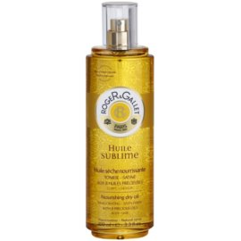 Roger & Gallet Huile Sublime Nourishing Dry Oil For Body And Hair  100 ml