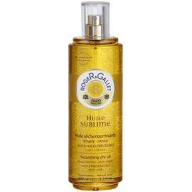 Roger & Gallet Huile Sublime vyživujúci suchý olej na telo a vlasy  100 ml