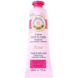 Roger & Gallet Rose крем для рук та нігтів з маслом ши та екстрактом троянди  30 мл