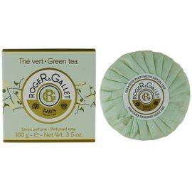 Roger & Gallet Thé Vert tuhé mýdlo v krabičce  100 g