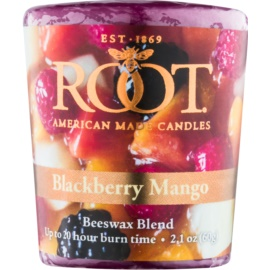 Root Candles Blackberry Mango bougie votive 60 g