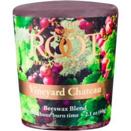 Root Candles Vineyard Chateau bougie votive 60 g