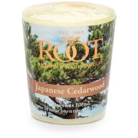 Root Candles Japanese Cedarwood sampler 60 g