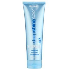Rusk Deep Shine Color Hydrate hydratační kondicionér pro snadné rozčesání vlasů  250 ml