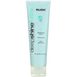 Rusk Deep Shine Lustre stylingový krém pro lesk a hebkost vlasů  125 g