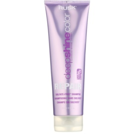 Rusk Deep Shine Color Repair čisticí a vyživující šampon pro zvýraznění barvy vlasů  250 ml