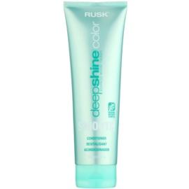 Rusk Deep Shine Color Smooth vyhlazující kondicionér pro snadné rozčesání vlasů  250 ml