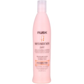 Rusk Sensories Pure condicionador nutritivo para cabelo pintado sem parabenos  400 ml