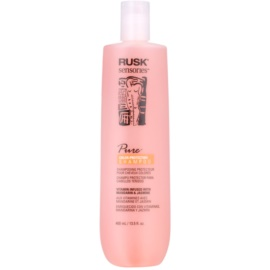 Rusk Sensories Pure champô nutritivo para cabelo pintado  400 ml