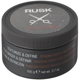 Rusk Styling silně tužící hlína pro všechny typy vlasů  105 g