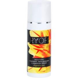 RYOR Argan Oil nočna krema s svilo in beta-glukanom  50 ml