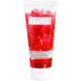 RYOR Face & Body Care regenerační krém na ruce s grepovým extraktem a rozmarýnovou silicí  100 ml