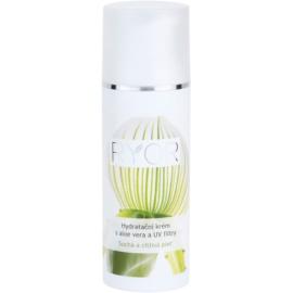 RYOR Dry And Sensitive creme hidratante com aloe vera e filtro UV  50 ml