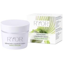 RYOR Dry And Sensitive vyživující krém s mandlovým olejem  50 ml