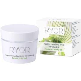 RYOR Dry And Sensitive tradiční mandlový krém ultramastný  50 ml