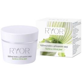 RYOR Dry And Sensitive výživný krém s přírodními oleji  50 ml