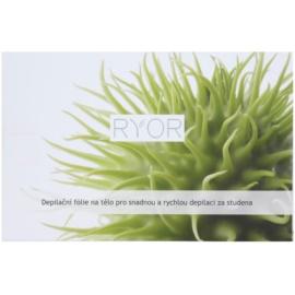 RYOR Depilation and Shaving folie depilatoare pentru corp pentru o depilare usoara si rapida la rece  10 buc