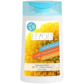 RYOR Sun Care Bruiningsmelk  SPF 15 waterproof  200 ml