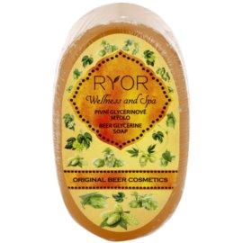RYOR Wellness and Spa Beer Cosmetics pivní glycerinové mýdlo  100 g