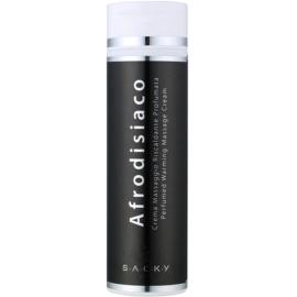 S.A.C.K.Y. Afrodisiaco парфумований зігріваючий масажний крем унісекс 200 мл