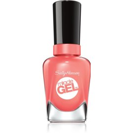 Sally Hansen Miracle Gel™ gel lak za nohte brez uporabe UV/LED lučke odtenek 380 Malibu Peach 14,7 ml