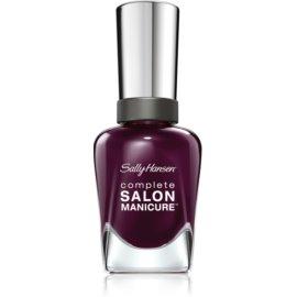 Sally Hansen Complete Salon Manicure lak za krepitev nohtov odtenek 660 Pat on the Black 14,7 ml