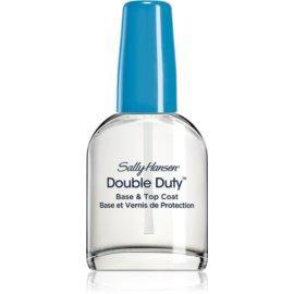 Sally Hansen Double Duty  prebase y esmalte de uñas de acabado  13,3 ml