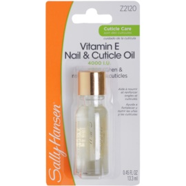 Sally Hansen Cuticle Care vyživujúci olej na nechty a nechtovú kožičku Vitamin E Nail and Cuticle Oil 13,3 ml