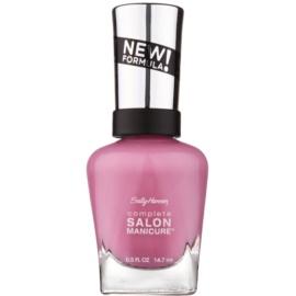 Sally Hansen Complete Salon Manicure lac pentru intarirea unghiilor culoare 375 SGT. Preppy 14,7 ml
