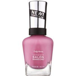 Sally Hansen Complete Salon Manicure posilující lak na nehty odstín 375 SGT. Preppy 14,7 ml