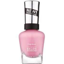 Sally Hansen Complete Salon Manicure lac pentru intarirea unghiilor culoare 523 Aflorable 14,7 ml