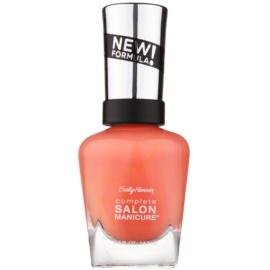 Sally Hansen Complete Salon Manicure укрепващ лак за нокти цвят 547 Peach of Cake 14,7 мл.