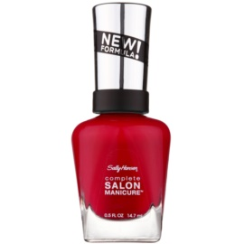 Sally Hansen Complete Salon Manicure укрепващ лак за нокти цвят 565 Aria Red-y? 14,7 мл.