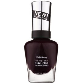 Sally Hansen Complete Salon Manicure posilující lak na nehty odstín 660 Pat on the Black 14,7 ml
