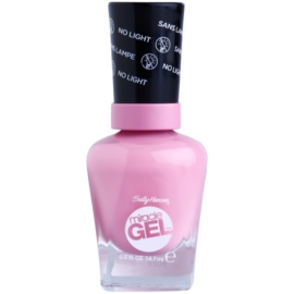 Sally Hansen Miracle Gel™ géles körömlakk UV/LED lámpa használata nélkül árnyalat 170 Pink Cadilacquer 14,7 ml