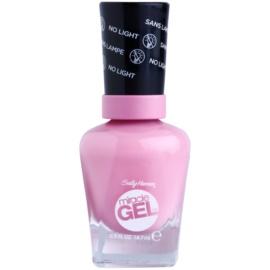 Sally Hansen Miracle Gel™ гел лак за нокти без използване на UV/LED лампа цвят 170 Pink Cadilacquer 14,7 мл.