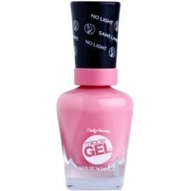 Sally Hansen Miracle Gel™ гел лак за нокти без използване на UV/LED лампа цвят 190 Pinky Rings 14,7 мл.