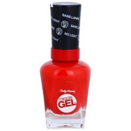 Sally Hansen Miracle Gel™ гел лак за нокти без използване на UV/LED лампа цвят 330 Redgy 14,7 мл.
