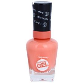 Sally Hansen Miracle Gel™ géles körömlakk UV/LED lámpa használata nélkül árnyalat 380 Malibu Peach 14,7 ml