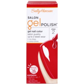 Sally Hansen Salon gelový lak na nehty odstín 220 Red My Lips 7 ml