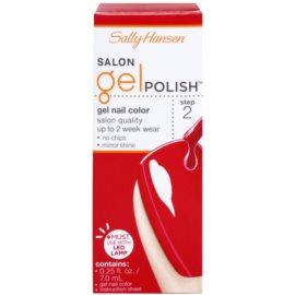 Sally Hansen Salon gélový lak na nechty odtieň 220 Red My Lips 7 ml
