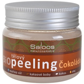 Saloos Bio Peeling peeling corporal  chocolate  140 ml