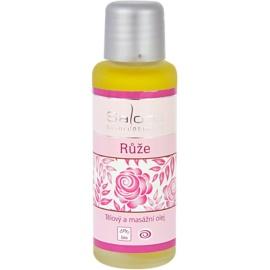 Saloos Bio Body and Massage Oils test és masszázsolaj rózsa  50 ml