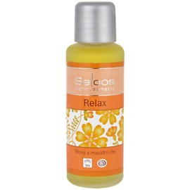 Saloos Bio Body and Massage Oils Body Massage Oil Relax  50 ml