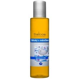 Saloos Shower Oil otroško olje za prhanje z vrtnim ognjičem  125 ml