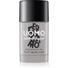 Salvatore Ferragamo Uomo dezodorant w sztyfcie dla mężczyzn 75 ml  bez alkoholu