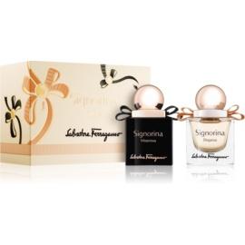 Salvatore Ferragamo Signorina darilni set VIII.  parfum 20 ml + parfum 20 ml