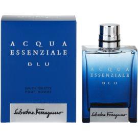 Salvatore Ferragamo Acqua Essenziale Blu Eau de Toilette pentru barbati 100 ml