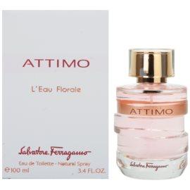 Salvatore Ferragamo Attimo L´Eau Florale Eau de Toilette pentru femei 100 ml